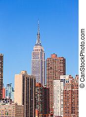 Empire State Building in Manhattan New York City