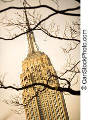 Empire state Building, midtown Manhattan, New York City, USA