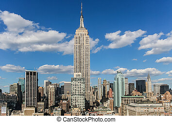 Empire State Building - View over the empire state building...