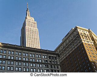 Empire State - This is a shot of the Empire State Building...