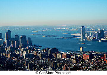 Empire View - View from the Empire State Building in New...