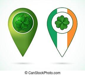 emplacement, irlande, marque