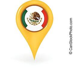 emplacement, mexique