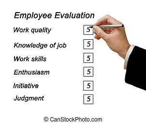 empleado, evaluación