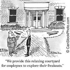 empleados, bueno, usted, si