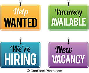 empleo, oportunidad, señales