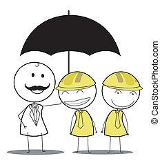 employé, assurance