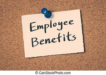 employé, avantages