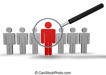 employé, recherche