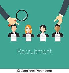employé, recrutement