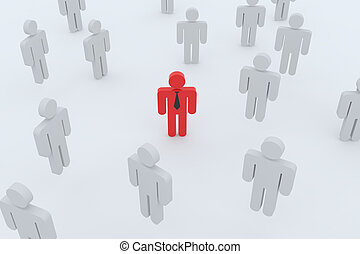 employé, search., gens
