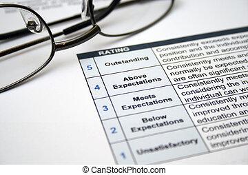 employé, soi, évaluation