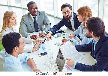 employés, réunion