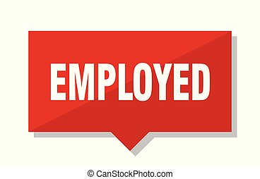 employed red tag