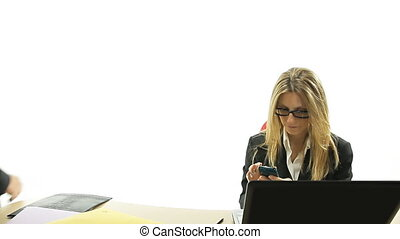 employee caught at phone