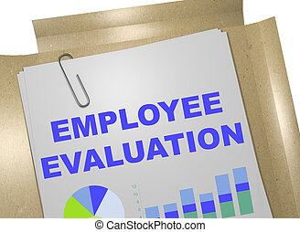 Employee Evaluation concept