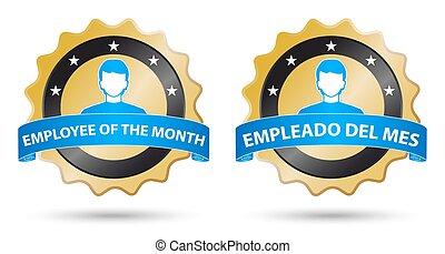 employee month english spanish
