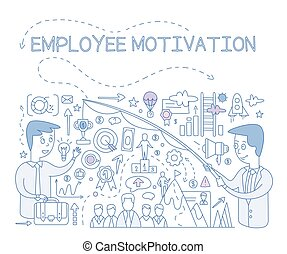 Employee Motivation Concept. Vector Infographic - Employee...