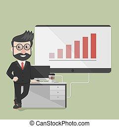 Employee presentation company bar