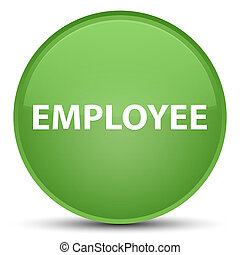 Employee special soft green round button
