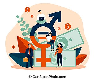Employees gender salary equality