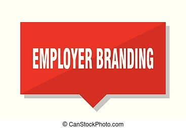 employer branding red tag