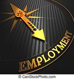 employment., ügy, concept.