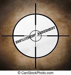 Employment agreement target