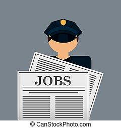 employment exchange design, vector illustration eps10...