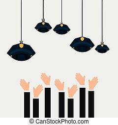 employment exchange design, vector illustration eps10 ...