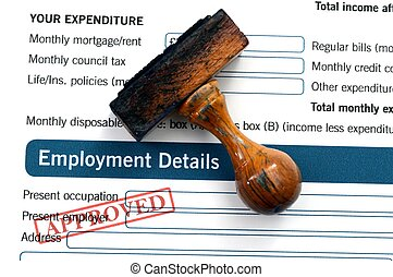 Employment form - approved