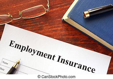 Employment Insurance form.
