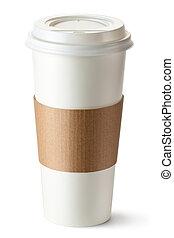 emporter, support, tasse à café