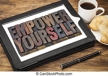 empower yourself concept