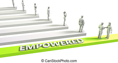 Empowered Mindset for a Successful Business Concept