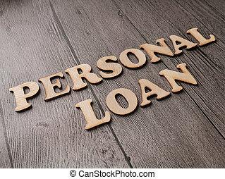 empréstimo, negócio, pessoal, motivational, citação, conceito, palavras