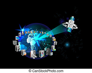 empresa global, aplicaciones