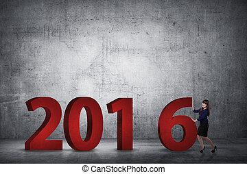 empresa / negocio, 6, número, él, persona, tan, empujón, ponerse, 2016