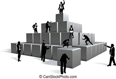 empresa / negocio, bloques