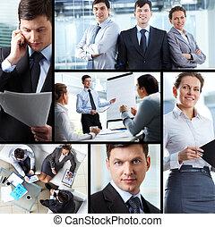 empresa / negocio, collage