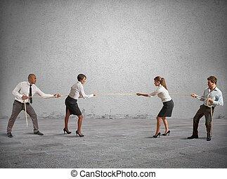 empresa / negocio, competición, equipo