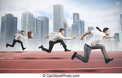 empresa / negocio, competición