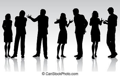 empresa / negocio, conversaciones
