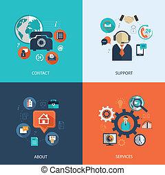 empresa / negocio, cuidado cliente, servicio