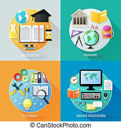 empresa / negocio, educación, concepto