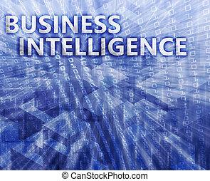 empresa / negocio, inteligencia, ilustración