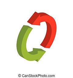 empresa / negocio, intercambio, aislado, señal, reemplazar,...