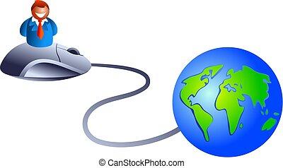 empresa / negocio, internet