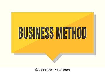 empresa / negocio, método, precio