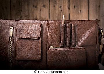 empresa / negocio, maletín, bolsa